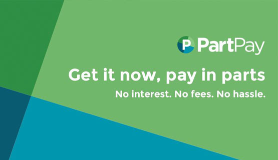 PartPay available at Nu Dax Alexandra